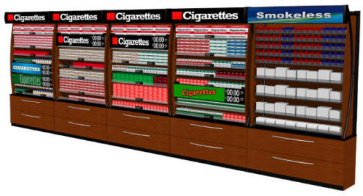 Superior Tobacco Fixtures and Cigarette Displays from TheCstoreEstore.com