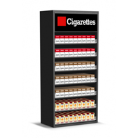 2ft Wood Cigarette Display