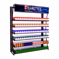 4ft Budget Metal Frame Cigarette Display