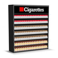 4ft Wood Cigarette Display
