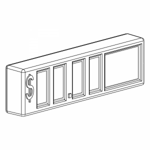 Scroll Pricer for Tobacco Fixtures