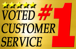 Voted #1 in Customer Service by our Clients!