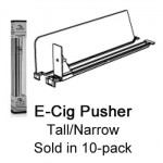 Tall/Narrow Vape & E-cig Pusher Kit, 3ft wide, 29 facings - Product Image