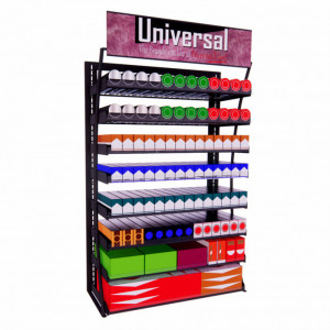 3ft LP Universal Quick Ship Display, 112 facings - Product Image