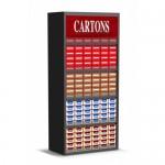2ft LP Wood Carton Fixture  - Product Image
